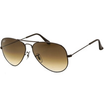 Ray Ban Aviator Gota Chica Rb 3025 014/51 Brown & Bronz Grad