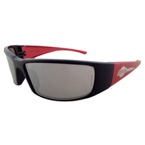 Lentes Harley Davidson Hd1423 Black/red Silver Mirror