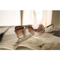Lentes Gafas De Sol Aviador Steampunk Matsuda Polarizado