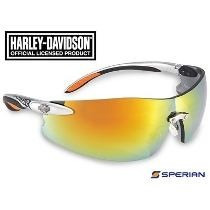 Lentes Harley-davidson Espejo Naranja Hd800 Con Envio Gratis