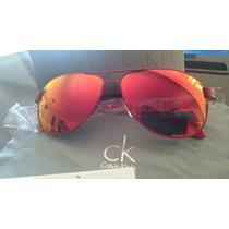Gafas Calvin Klein Rojas Totalmente Nuevas