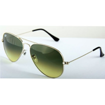Ray Ban Gota Mediana Rb 3025 001/2f Gold Green Gradient