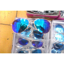 Lentes Niños Aviator Color, Mayoreo