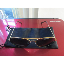 Super Fashion Lentes De Sol Retro Aviador Rbp En Oro Carey