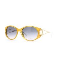 Gafas Christian Dior Amarillo Auténtico Vintage Mujer Gafa