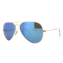 Ray Ban Aviator 3025112/4l Blue Flash Azul Espejo Polarizado