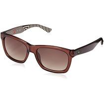 Gafas Lacoste L711s Gafas De Sol Wayfarer Negro, Gris