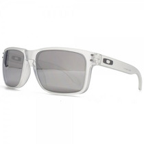 Oakley Holbrook Matte Clear - Chrome Iridium Urban Jungle