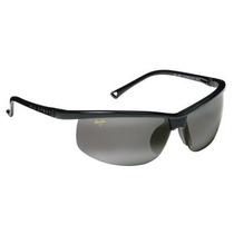 Gafas Maui Jim Puesta De Sol Polarizadas - Negro / Gris, Un