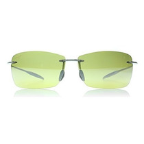 Gafas Maui Jim Faro De Gafas De Sol Polarizadas Humo Marco