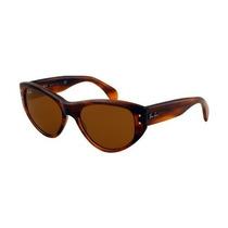 Gafas De La Mujer Ray-ban Gafas De Sol Rectangulares Vagabo