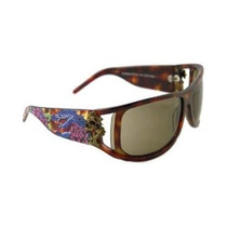 Gafas D Hardy Snake Y Rosas Gafas De Sol Ehs046 - En Su Ele