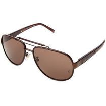 Gafas Mont Blanc Mb367s5948j Aviator Sunglasses Brillante C