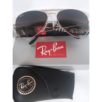 Ray Ban Aviator - 3025 001/51 Medianos 55mm Originales