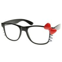 Gafas Zerouv - Womens Gatito Clear Lens Gafas Retro Moda W