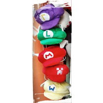 Gorra De Mario Bros, Luigui, Warrior, Peache De Calidad