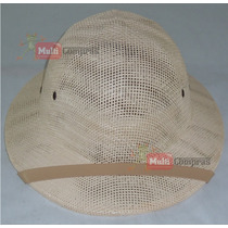Sombrero Salacot Tipo Safari Cazador Pith Hat Tipo Filipino