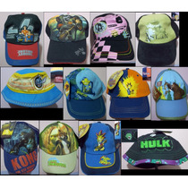 Gorras Para Niños 100% Originales Batman Superman Avatar