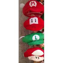 Gorra De Mario Bros O Luigui O Peache De La Mejor Calidad
