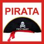 Sombrero Pirata Fiesta Boda Xv Disfraz Jake Dj Calavera Jack