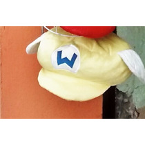 Gorra De Mario Bros Preluche Amarilla