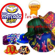 Sombrero Para Fiesta Tipo Bombin,payaso,batucada