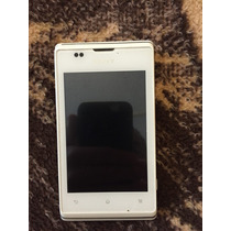 Celular Sony Xperia C1504 Color Blanco Hm4