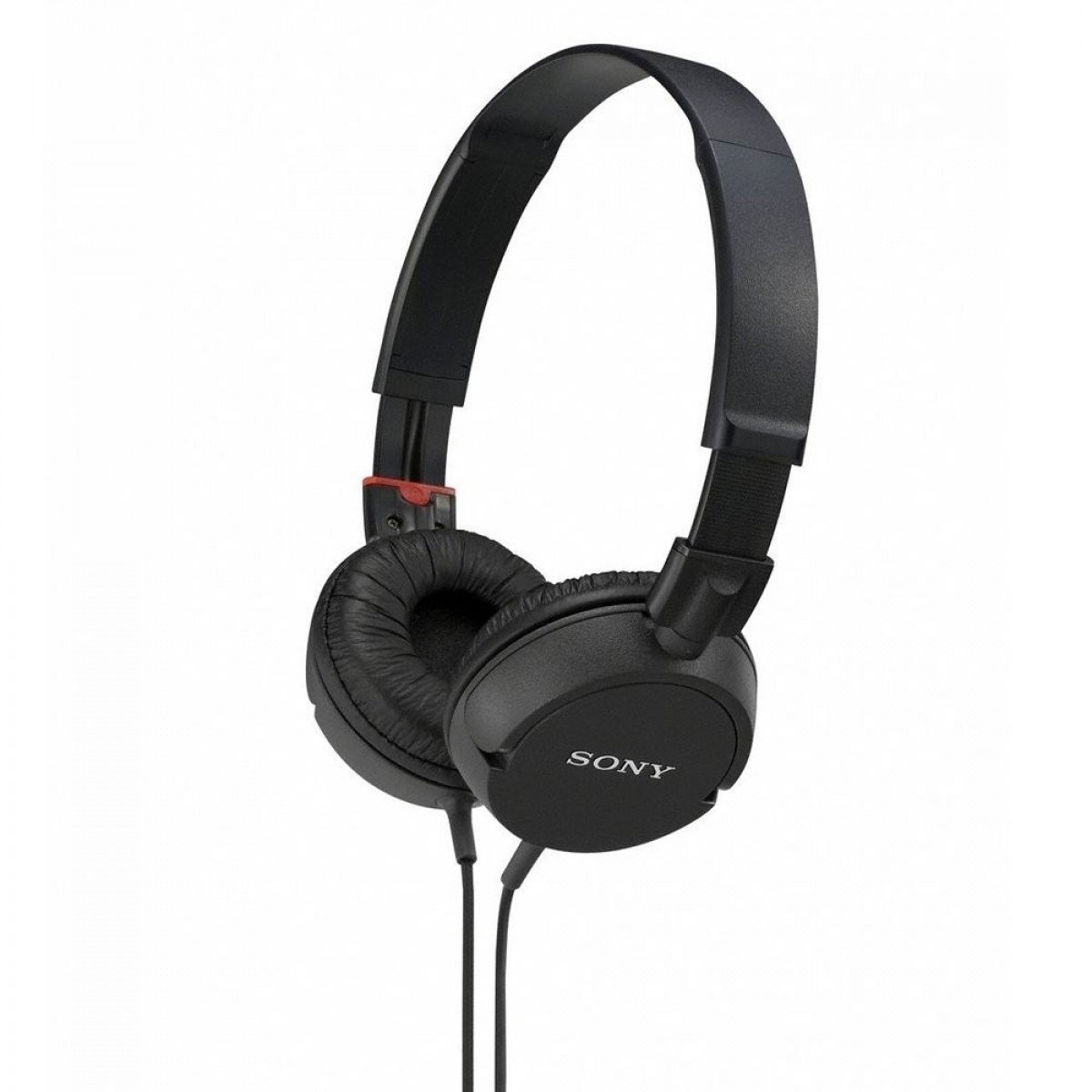 sony mdr zx100 blk stereo wired headphones over the ear. Black Bedroom Furniture Sets. Home Design Ideas