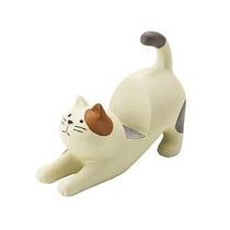Gato Crema Con El Oído De Brown Patch Smartphone Soporte