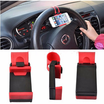Soporte Iphone Holder Base Autos Universal Volante Cel