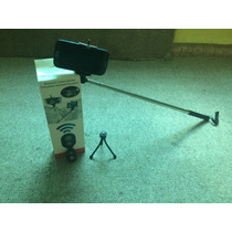 Selfie Stick Tripie Iphone Bluetooth Palo Para Foto