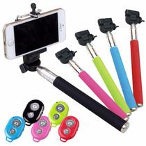 Bastón Selfie Stick Con Control Inalámbrico Bluetooth 2 En 1