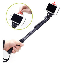 Brazo Monopod Ajustable P Celular Camara Rosca 1/4 Selfie