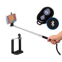 Baston Selfie Stick Con Disparador Bluetooth Celular Camaras