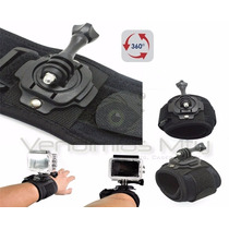 Gopro Wrist Muñeca 360° Adaptador Monopod Go Pro Accesorio
