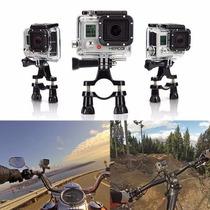 Soporte Base Manubrio Bicicleta Para Camara Go Pro 1 2 3