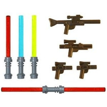 Lego Lightsaber Y Blaster Rifle Pack (4 Sables De Luz) (4 Bl