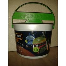 Star Wars Angry Birds Canastita Para Dulces Halloween
