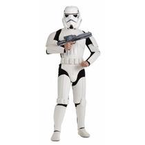 Star Wars Disfraz Traje Stormtrooper Adulto Talla Xl