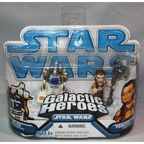 R2 D2 Slave Leia Star Wars Galactic Heroes Dvn
