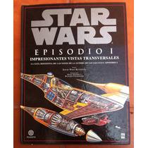 Star Wars Libro Guía Vistas Transversales Naves Episodio 1