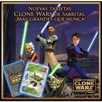 Tarjetas Sabritas Clone Wars