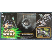Tie Interceptor Con Piloto Imperial Star Wars Potj 2001