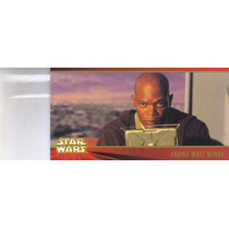 Stars Wars Topps Widevision Episode 1 Facing Mace Windu #58