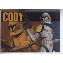2010 Topps Star Clone Wars Bounty Hunters Commander Cody