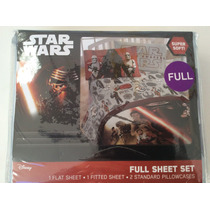 Star Wars The Force Awakens - Full Sheet Set - Super Soft