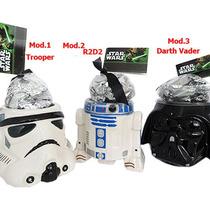 Combo 3 Tazas Star Wars Darth Vader, R2d2, Clone Trooper.