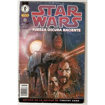 Star Wars Fuerza Oscura Naciente Numero 7 Comic