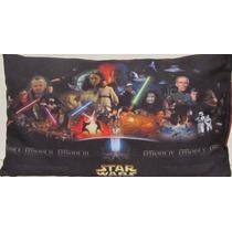 Star Wars Cojin Conmemorativo Toda La Saga