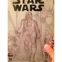 Star Wars # 001 Portada Variante Exclusiva De Bam